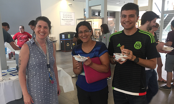 CBI Ice Cream social in ISB lobby