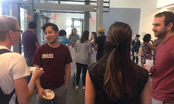 CBI Ice Cream social in ISB lobby