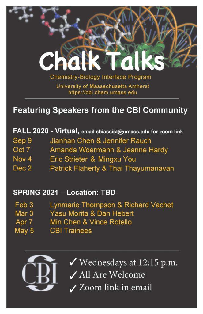 Chalk Talk Poster 2020-2021